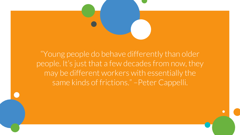The Ultimate Safety Playbook For Training Millennials By Millennials - quote slide peter cappelli