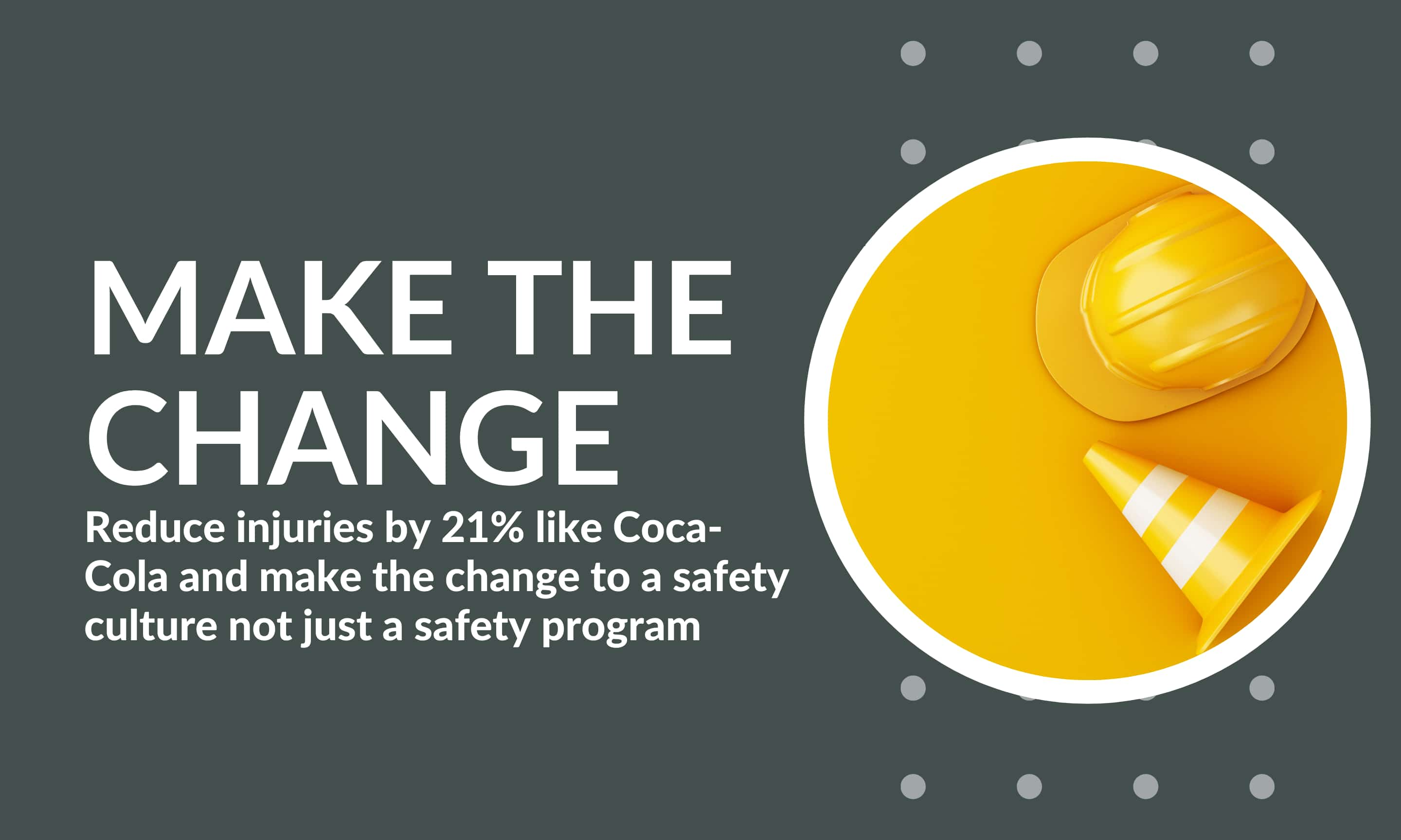 make the change to a safety culture not just a safety program (1)