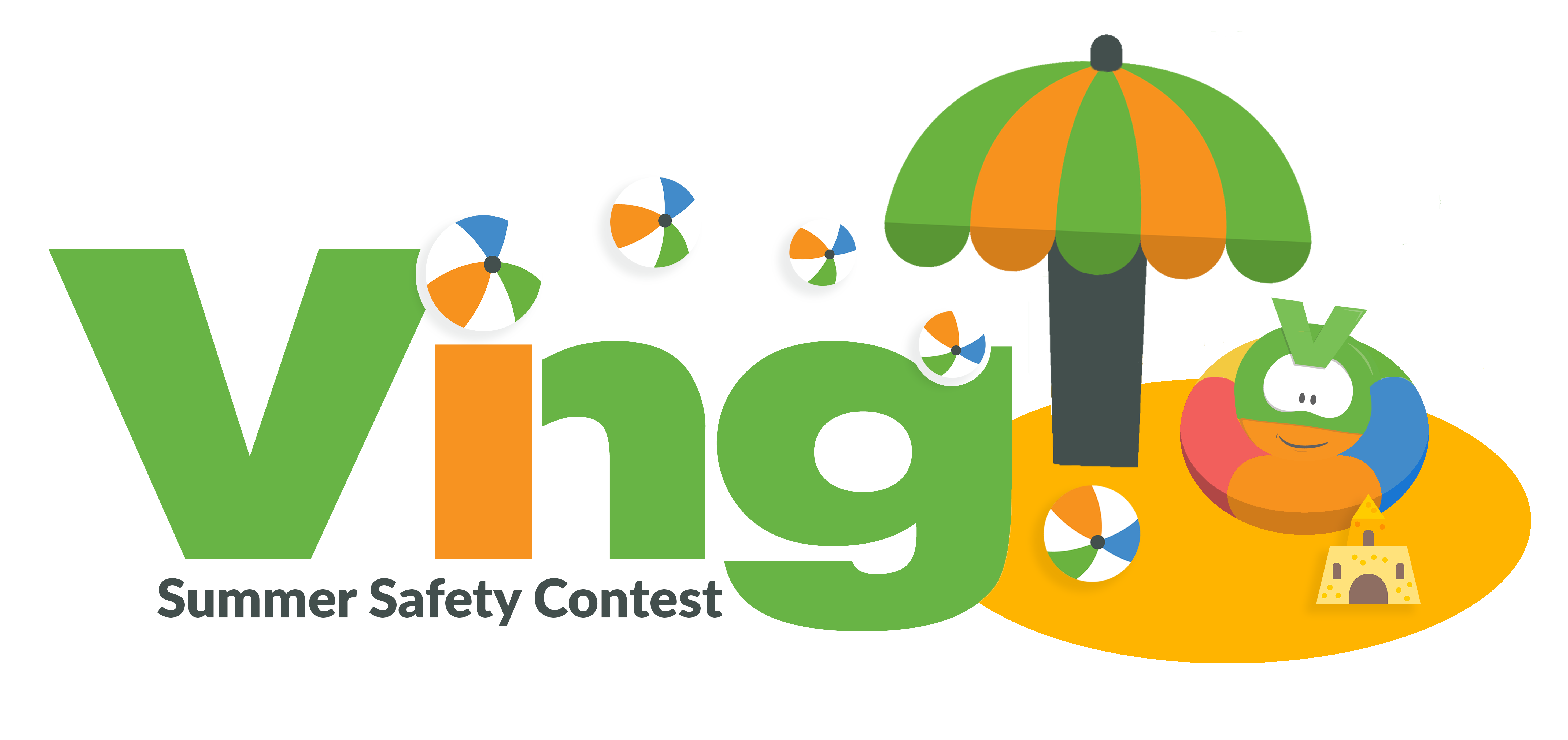summer safety contest logo